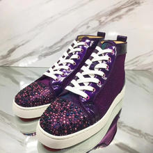 602795a0816 Buy purple leather shoes men and get free shipping on AliExpress.com