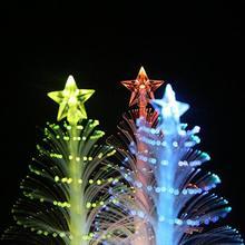 Разноцветное Рождественское украшение Детский Рождественский светильник Красочный светодиодный волоконно-оптический Ночной светильник лампа для рождественской елки