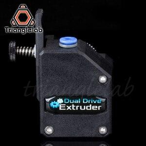 Image 5 - Trianglelab extrusora de doble unidad para impresora 3d mk8 cr10 ender3, V1.0, Cloned Btech Bowden