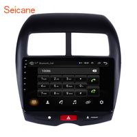 Seicane 2 din Car Radio Multimedia Video Player Navigation GPS Android 8.1 For 2010 2011 2012 2015 Mitsubishi ASX Peugeot 4008