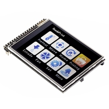 RobotDyn Tft 2.8 Inch Lcd Press Screen Module, 3.3V, With Sd And Microsd Card