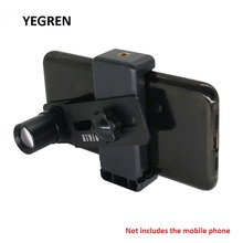 Крепление для мобильного телефона адаптер зажим для телефона с 12.5X окуляром объектив f/микроскоп сохранить отправить фото видео диаметр 23,2 мм 30 мм 30,5 мм