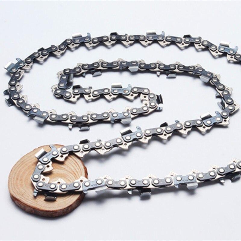 Matériel professionnel chaînes de scie à chaîne 91VG 3/8/. 050 (1.3mm) chaînes de tronçonneuse à ciseau rond