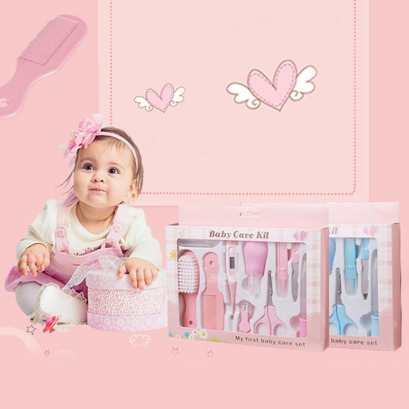 10pcs/Set Portable Baby Health Care Set Grooming Cutter Nail Newborn Tool D3