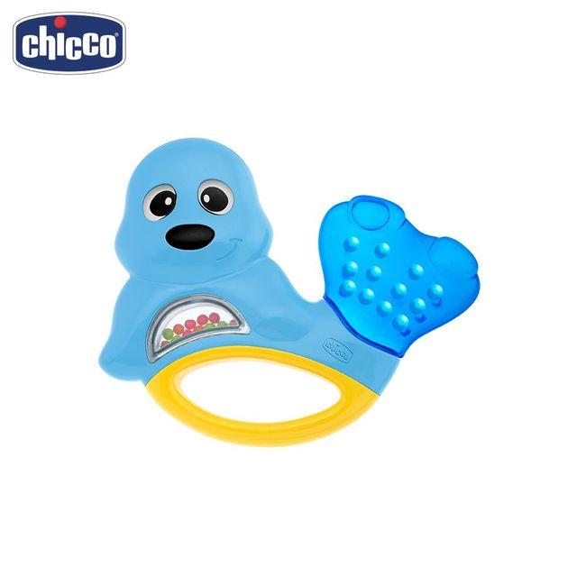 """Игрушка-погремушка Chicco """"Морской котик"""" 3м+"""