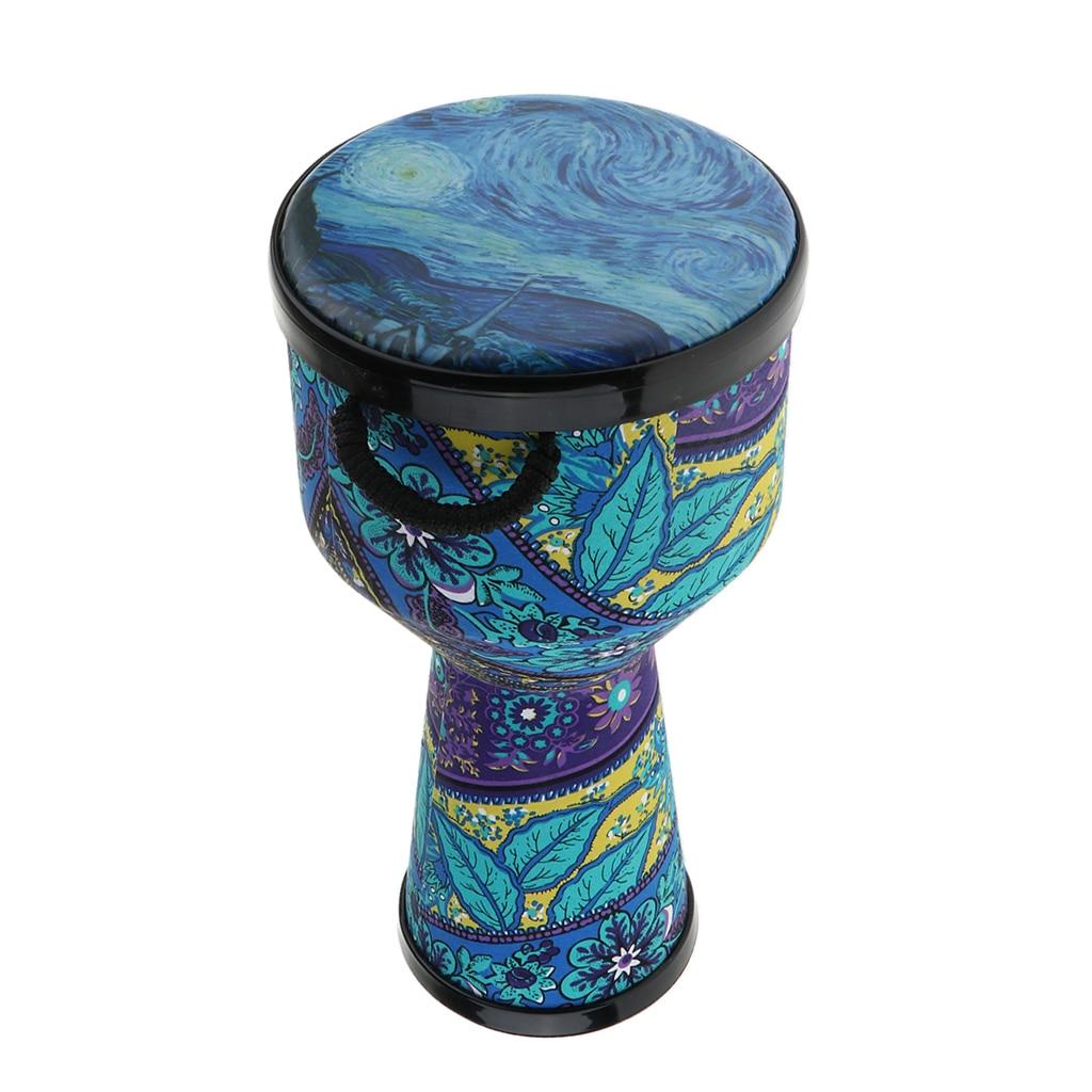 8 pouces djembé Bongo africain main tambour Musical portable Instrument de Percussion pour enfants adultes cadeau