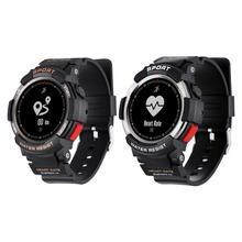 F6 ساعة ذكية IP68 للماء عداد الخطى مراقب معدل ضربات القلب متعددة الرياضة وسائط جهاز تعقب للياقة البدنية Smartwatch