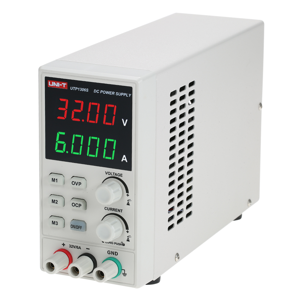UNI-T di Commutazione Per DC Power Supply 4 Cifre Display A LED 0-32 v 0-6A di Alta Precisione Regolabile Mini Power alimentazione AC 220 v 50 hz