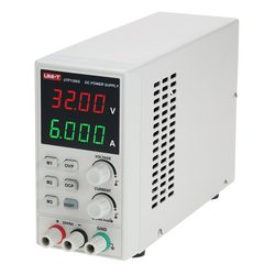 UNI-T Switching For DC Power Supply 4 Digits Display LED 0-32V 0-6A High Precision Adjustable Mini Power Supply AC 220V 50Hz