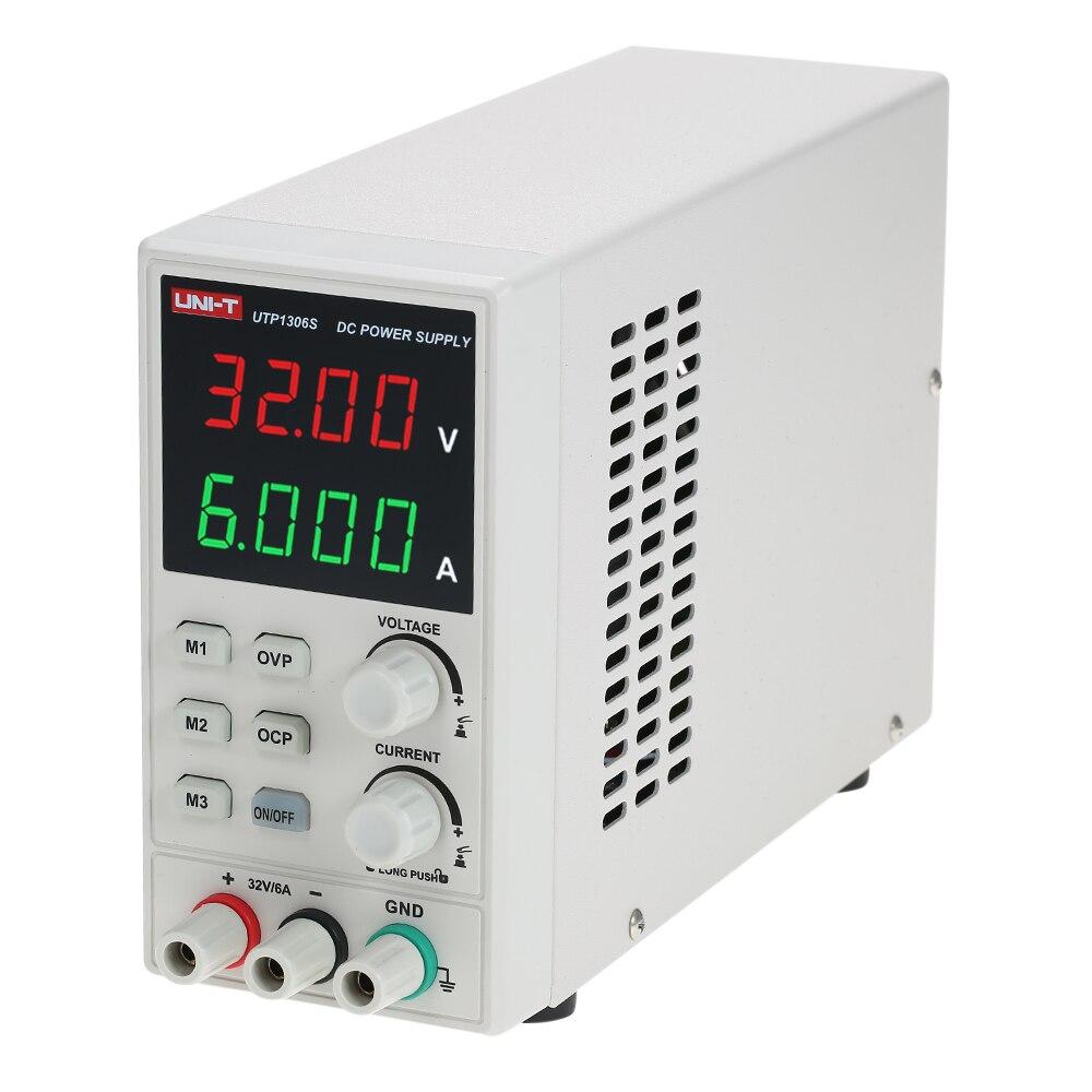 UNI-T de Commutation Pour DC Alimentation 4 Chiffres Affichage LED 0-32 v 0-6A Haute Précision Réglable Mini Puissance fournir AC 220 v 50 hz