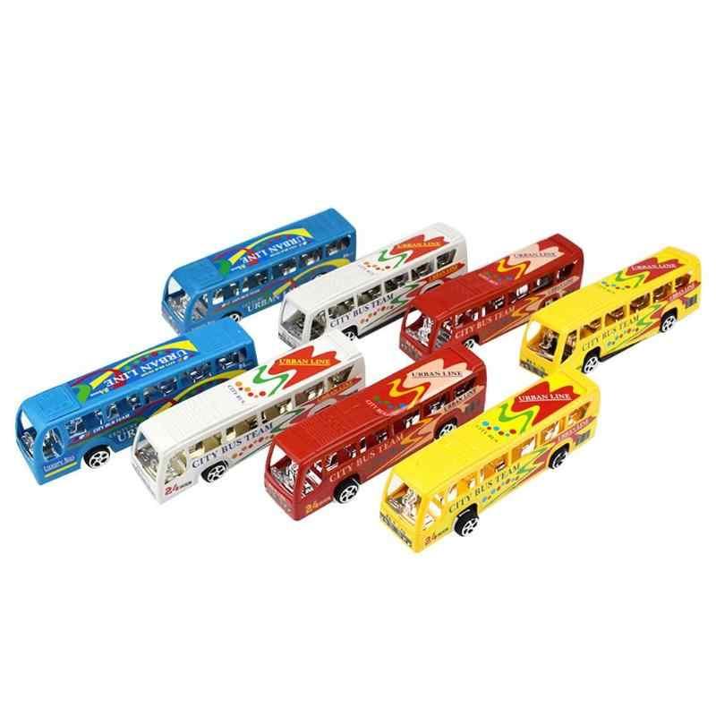 พลาสติกรถของเล่นเด็กเด็ก Racing ดึงกลับรถบรรทุกรถบรรทุกรถเด็กของขวัญของเล่นรถของขวัญเด็ก