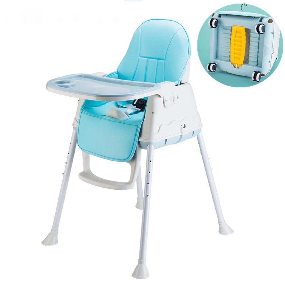 Kidlove Multifunctionele Verstelbare Baby Kids Veiligheid Dining High Chair Booster Met Seat Wielen Warm Kussen Nieuwe Hoge Kwaliteit Bloedcirculatie Activeren En Pezen En Botten Versterken