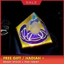 Orgonite Luminous Pyramid Natural Energy Crystal Change Magnetic Field Resin Decoration Reiki Healing Helps Sleep