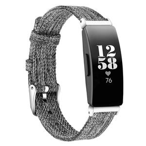 Image 4 - Smooth Watch Bands Classic Canvas Straps With Metal Connector Replace Durable Women Men Wristband Wear Resistant Fitness Tracker