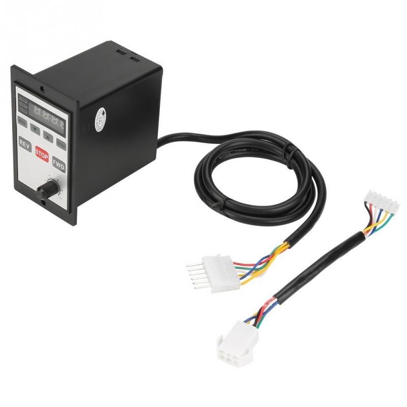 Hot AC 220V Digital Speed Controller AC Motor Speed Control Unit 0 100% Adjustable Range 6W to 200W for Choose