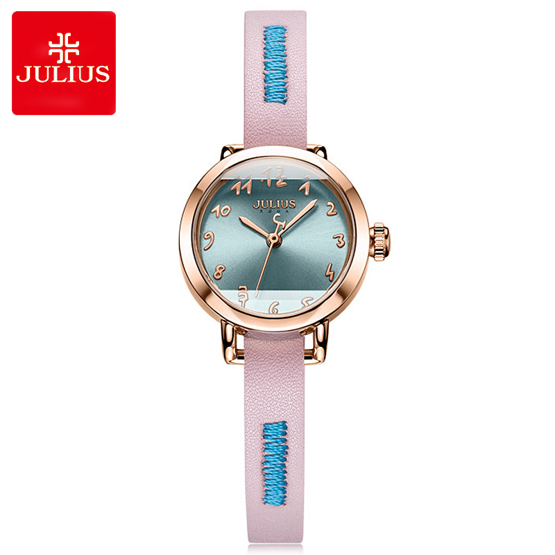 New Julius Small Women's Watch Japan Miyota Quartz Lady Cute Arabic Numbers Hours Fashion Clock School Girl's Birthday Gift Box|Women's Watches| |  - title=