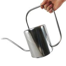 Stainless Steel Watering Kettle Garden Spray Bottle Irrigation Tool Long Mouth Innovative Pot For Indoor Durable