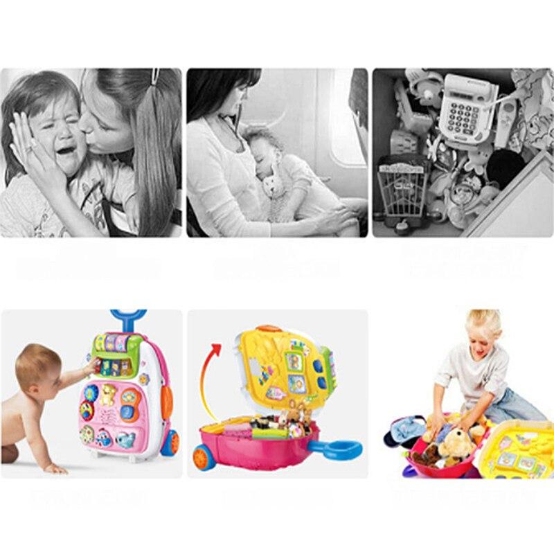 Valise pour enfants sac à dos léger valise transportant la roue de bagage - 5
