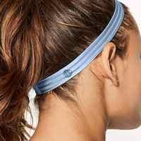 Nicht-Slip Sport Stirnband Haar Band Elastische Silikon Schweißband Perfekte Für Lauf Fitness Yoga Fußball Basketball Volleyball