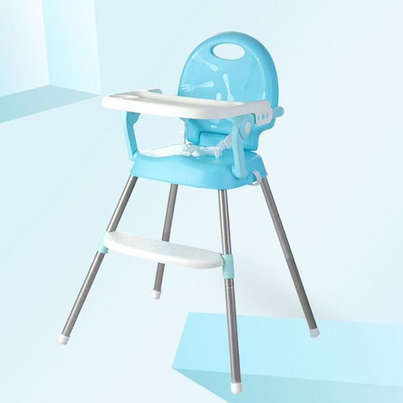 Bébé heureux alimentation chaises sécurité Portable Table chaises chaise haute pour enfants bébé en plastique réglable à manger chaise