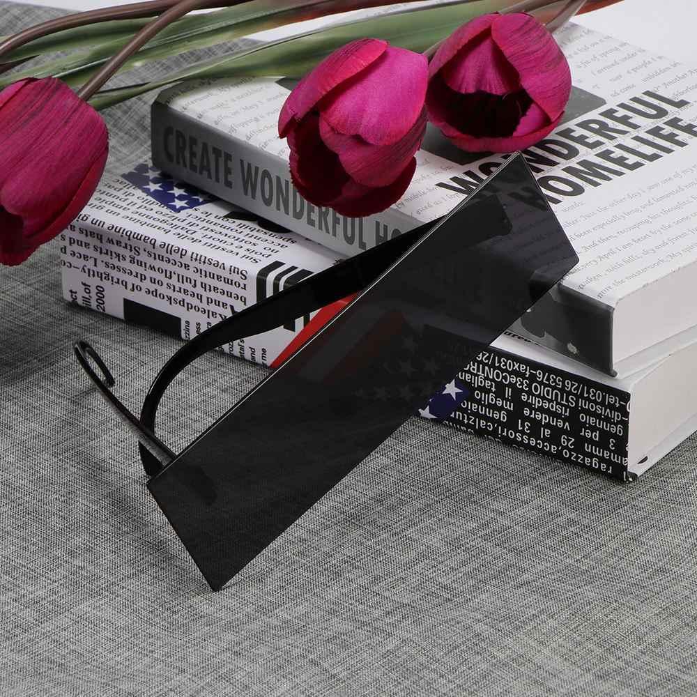 Okulary dla kierowcy rekwizyty do budki fotograficznej Censor Bar okulary przeciwsłoneczne czarne oko pokryte okulary foto budka rekwizyty pielenie strona dekoracji