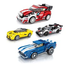 Новый город гоночный серии Скорость Чемпион гонщик фигурки строительные блоки игрушки для детей мальчик подарки Совместимость legoings автомобиль