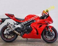 Hot Sales,For Suzuki GSXR1000 2017 2018 2019 GSX R1000 GSXR 1000 K17 17 18 19 All Red Sportbike Fairing Kit (Injection molding)