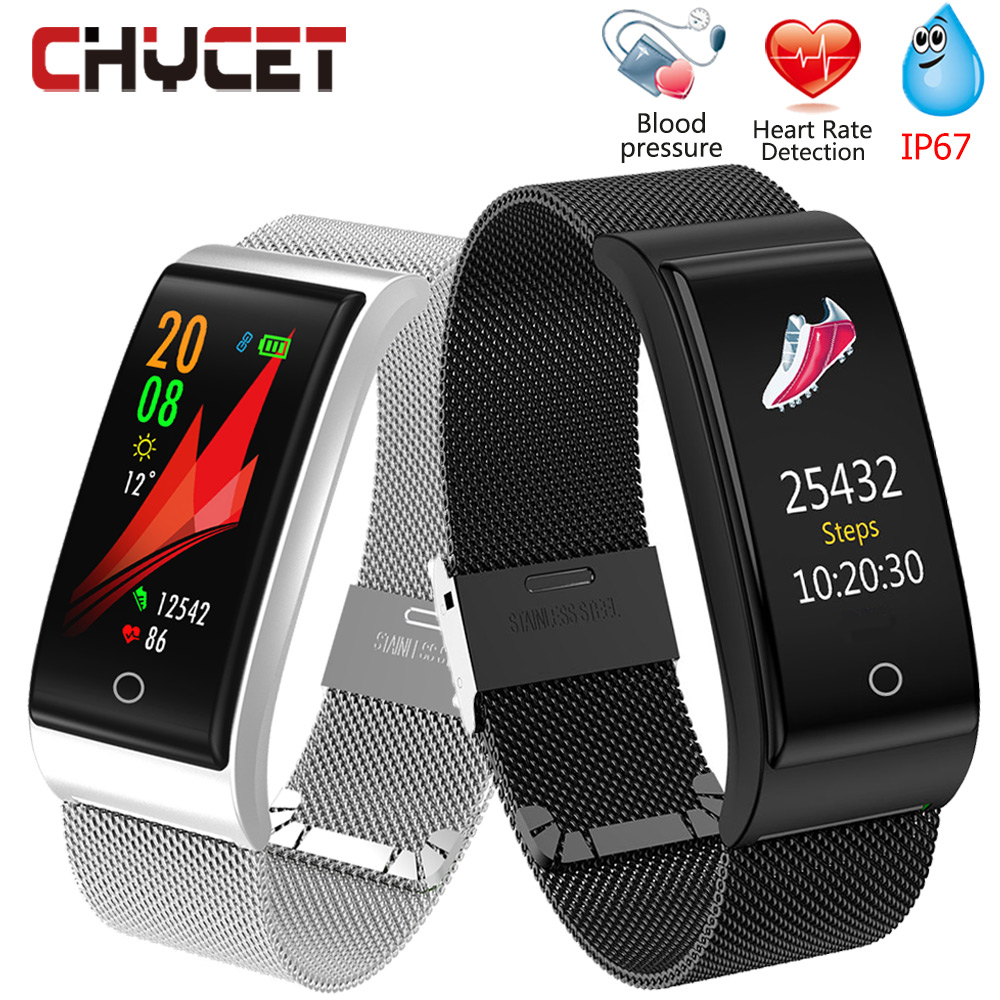 Chycet Fitness Tracker Watch Blood Pressure Waterproof Ip67 GPS Heart Rate Monitor Smart Bracelet Measurement Women for Adult   Chycet Fitness Tracker Watch Blood Pressure Waterproof Ip67 GPS Heart Rate Monitor Smart Bracelet Measurement Women for Adult