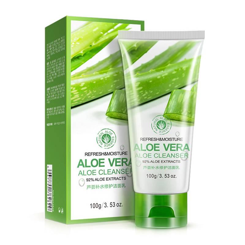 Face Washing Aloe Vera Gel Facial Cream Skin Care Solar Cream Acne Cosmetic Treatment Anti Wrinkle Acne Whitening Toiletry Kits