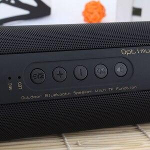 Image 5 - T2 bluetooth低音スピーカーポータブル防水屋外ワイヤレスミニ列スピーカーサポートtfカードfmステレオハイファイボックス