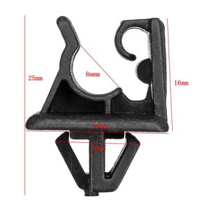 Image 5 - Black Bonnet Hood Prop Support Rod Clamp Clip Kit for Kia for Hyundai 81174 21010 / 8117421010