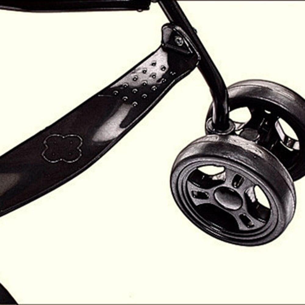Детская подставка для ног коляска педаль для ног легкая пластиковая Высококачественная Черная детская коляска
