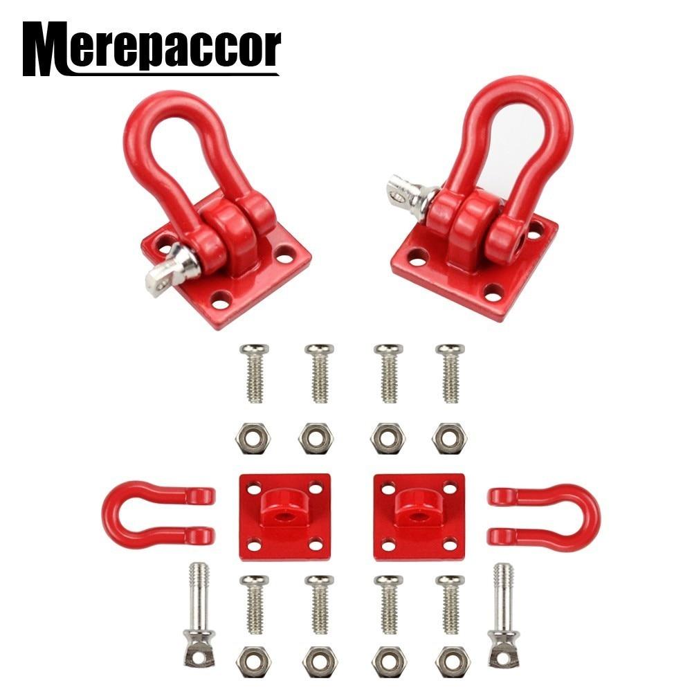 MEREPACCOR Rc Rock Crawler 1:10 Accessory Tow Hook For Axial Wraith Scx10 90046 90047 D90 D110 Tf2 Tamiya Cc01 Traxxas Trx-4