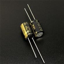 5 pces 470 uf 35 v nichicon kw série 10x16mm 35v470uf alta fidelidade capacitor de áudio
