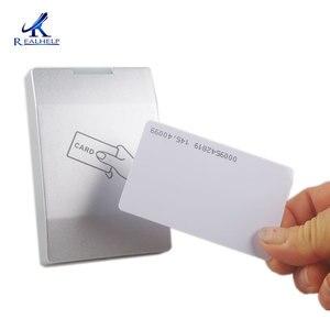 Image 5 - Lector de tarjetas RFID 125KHZ Control de acceso de una sola puerta IP65 impermeable al aire libre 2000 usuarios WG26 salida tarjeta maestra administrar fácil uso