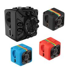 New HD 1080P Mini Camera SQ10/SQ11 Small Car Camcorder With Night Vision DVR DV Support TF Card