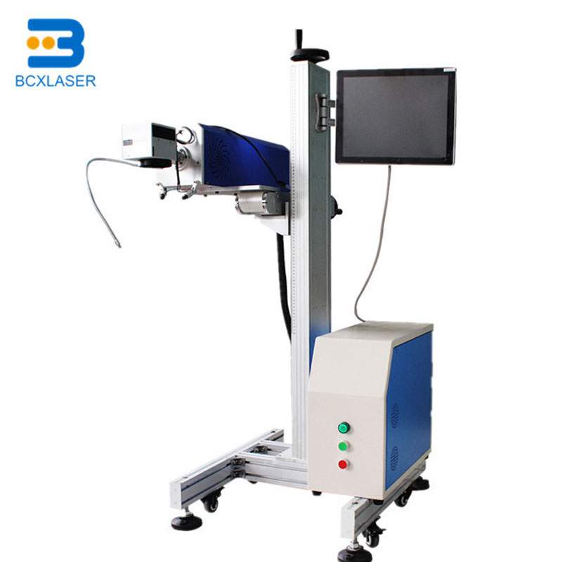 Low Price High Speedflying Type CO2 Laser Marking Machine With Good Quality