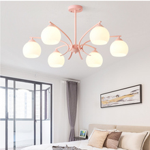 Nordic Loft LED Pendant Lights Acrylic Lampshade Living Lighting Room Luminaria Hanging Lamp Kitchen Fixtures Luminaire недорого