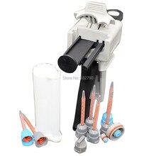 7pcs 10:1 Static Mixer Tip Nozzle Mixing Nozzles + 50ml Resin Cartridge Mixer Tubes + Dispensing Gun Manual Applicator Glue Gun