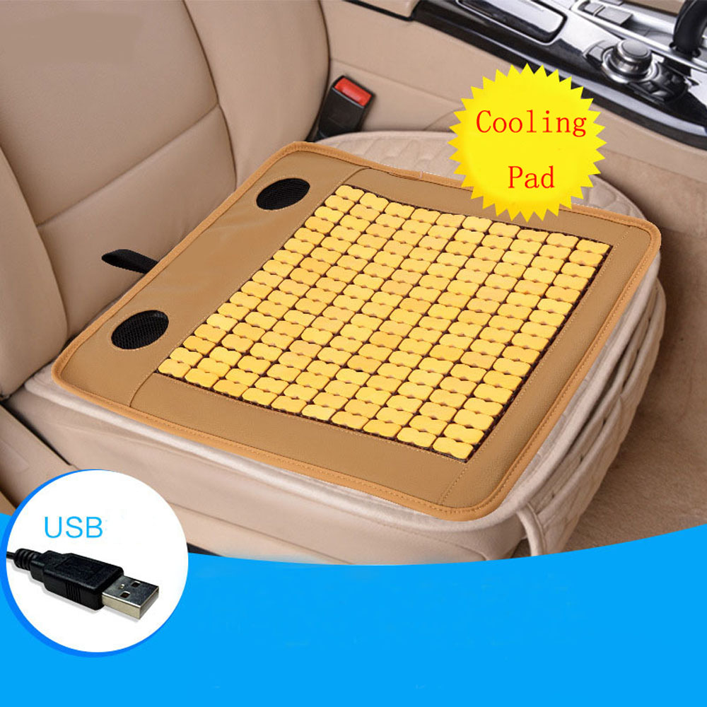 Reasonable 1pc Summer Car Usb Electric Air Cooling 3d Fan Pad Office Chair Seat Cover Breathable Mat Hygienic Skin-friendly Cushion Easy To Use