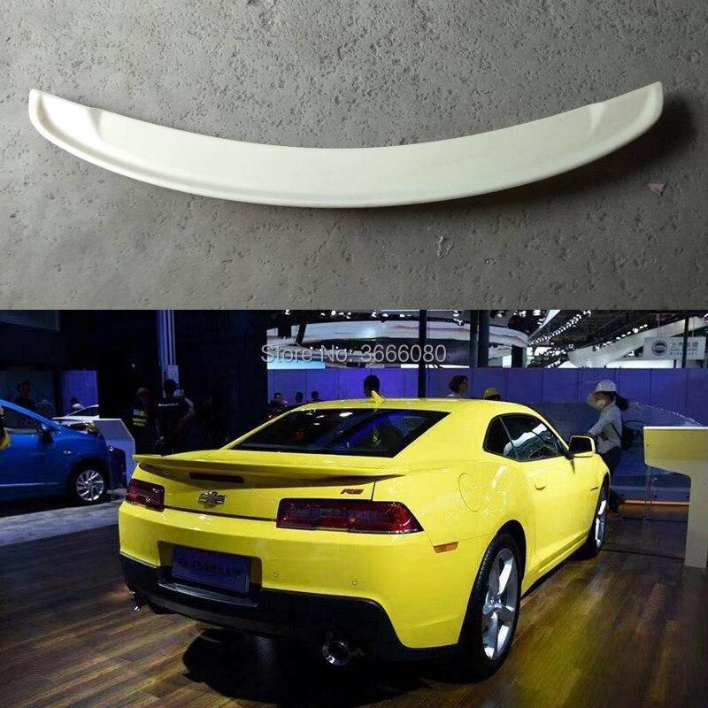 Auto Accessoires Abs Plastic Unpainted Kleur Kofferbak Vleugel Lip Roof Spoiler Auto Deel Voor Chevrolet Camaro 2013 2014 2015