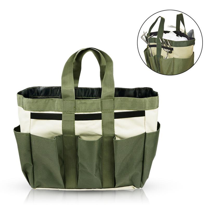 Kit Oxford Cloth Garden Box Gardening Toolkit Flower Shovel Bag Organizer Planting Tree And Fix Tool Protable Bag