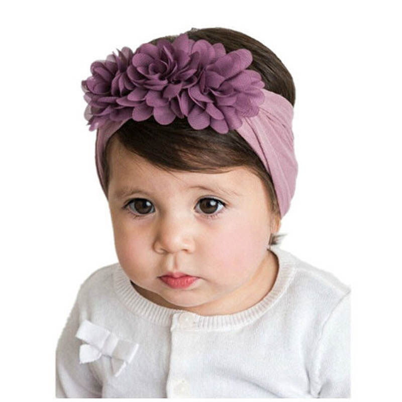 1 Stücke Solide Fleece Blume Bowknot Stirnband Haar Bogen Band Zubehör Headwear Für Mädchen Ausgereifte Technologien