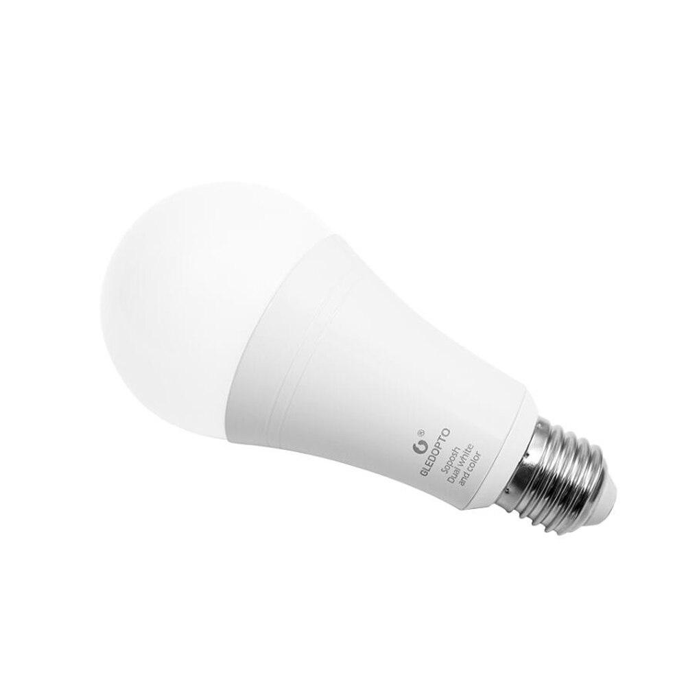 Купить с кэшбэком ZIGBEE Bulb E27 12W E26 Zigbee Lamp RGB CCT Dual White Zigbee Light Link Smart Lamp App Control LED Bulb AC 110V 220V 230V