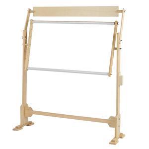 Image 4 - كبيرة الحجم التطريز حامل الصلبة إطارات خشبية طاولات خشبية قابلة للتعديل الإطار ل عبر غرزة الخياطة اليدوية أدوات