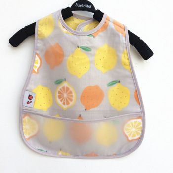Adjustable Baby Bibs EVA Waterproof Lunch Feeding Bibs Baby Cartoon Feeding Cloth Children Baby Apron Babador Bandana 1