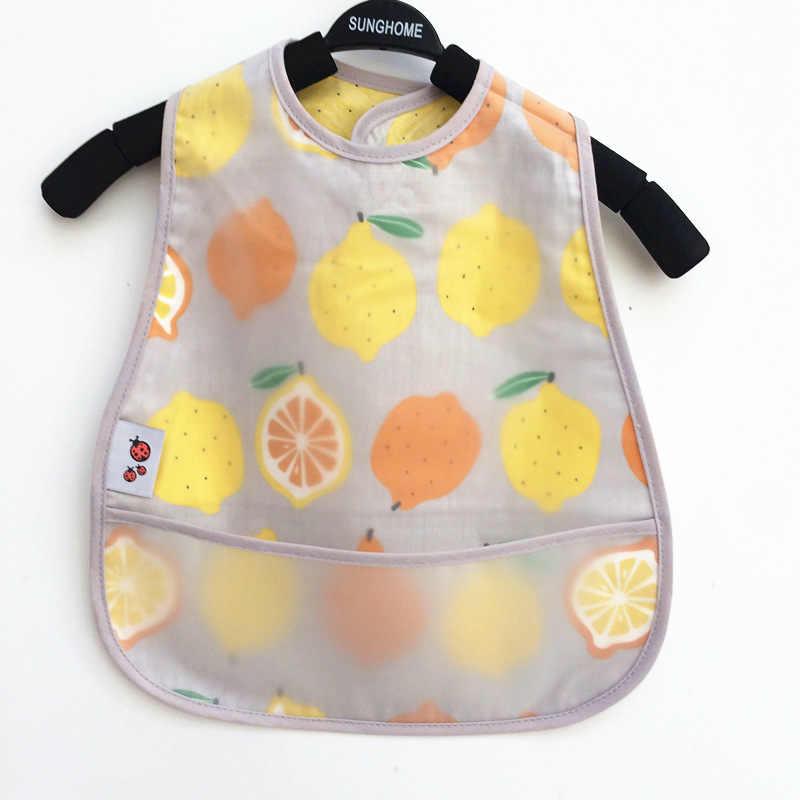 Adjustable Bayi Oto EVA Tahan Air Makan Siang Makan Oto Bayi Gambar Kartun Makan Kain Anak Bayi Celemek Babador Bandana