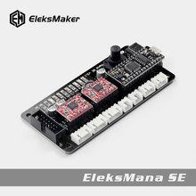 EleksMaker®EleksManaSE V3.2 2 оси шаговый двигатель драйвер плата контроллера для DIY чпу лазерный гравер контроллер