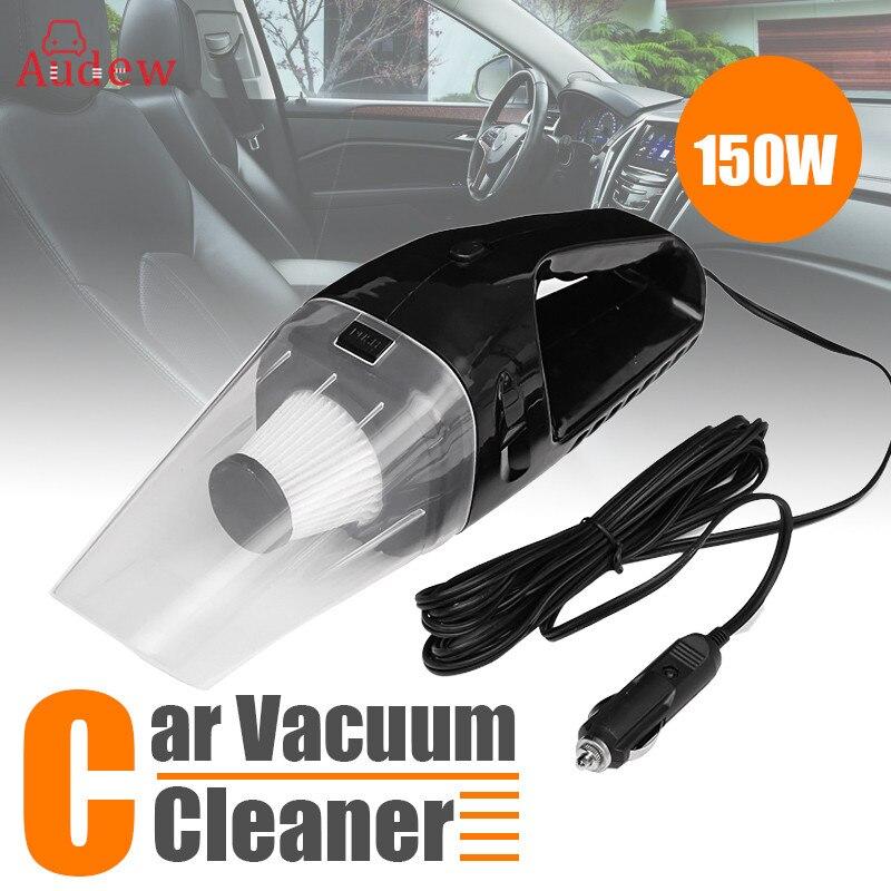 Aspirador de pó do carro 150 w 12 v portátil portátil aspirador de pó automático molhado seco dupla utilização espanador voiture