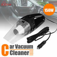 Car Vacuum Cleaner 150W 12V Portable Handheld Auto Vacuum Cleaner Wet Dry Dual Use Duster Aspirateur Voiture